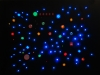 Unknown planet II, 2009, 60x45x7cm, Mixed media, LED system, plastic and metal switches, Controllers, perforated aluminium plate