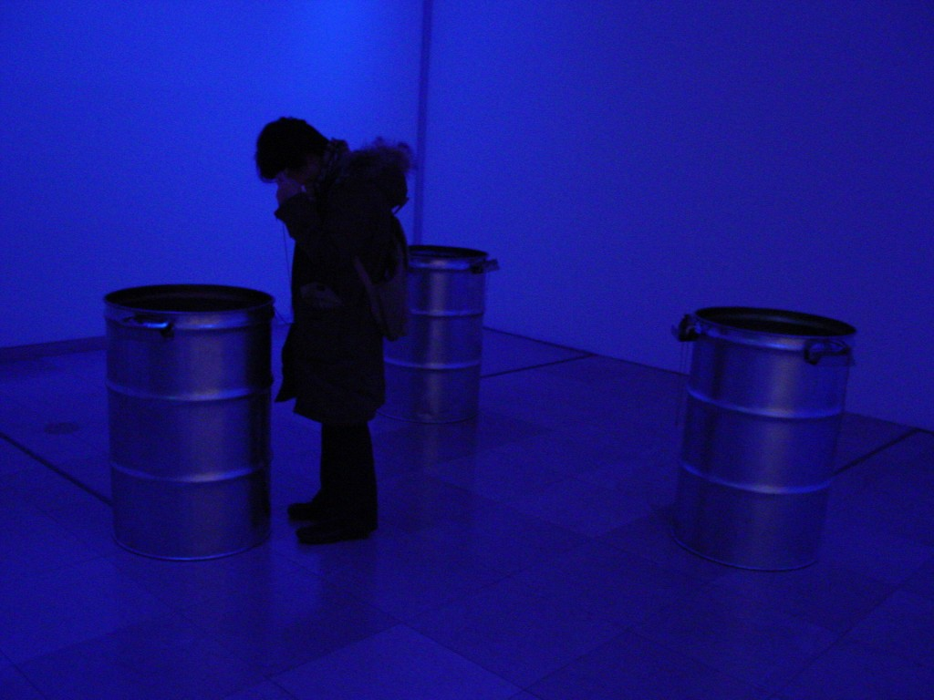 Abysse, 2001-6, Couleur, sonore, Color/Sound, 3D Installation vidéo, 3D Video installation