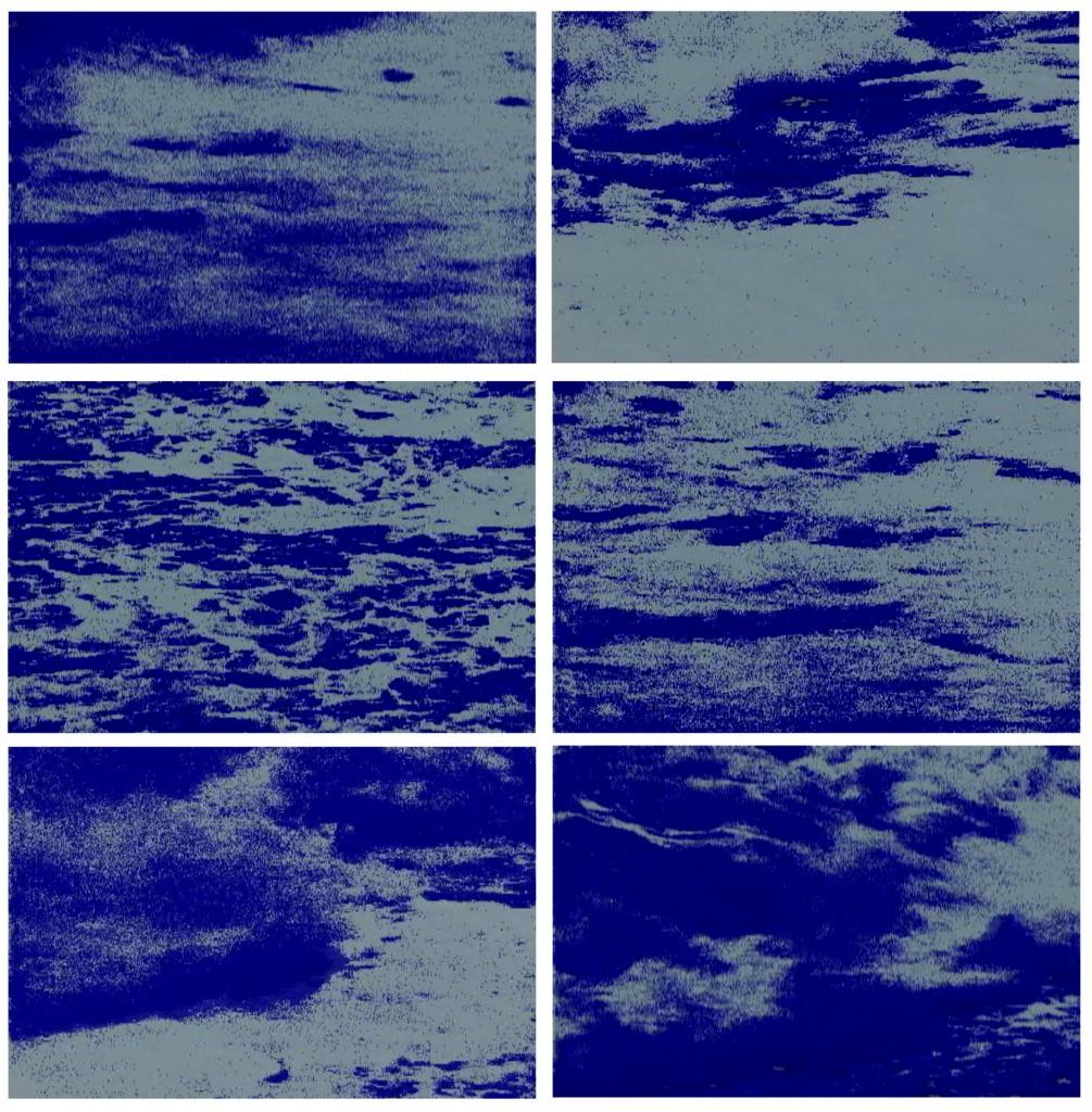 Floating time (bleu), 2008, 5m40s, No sound