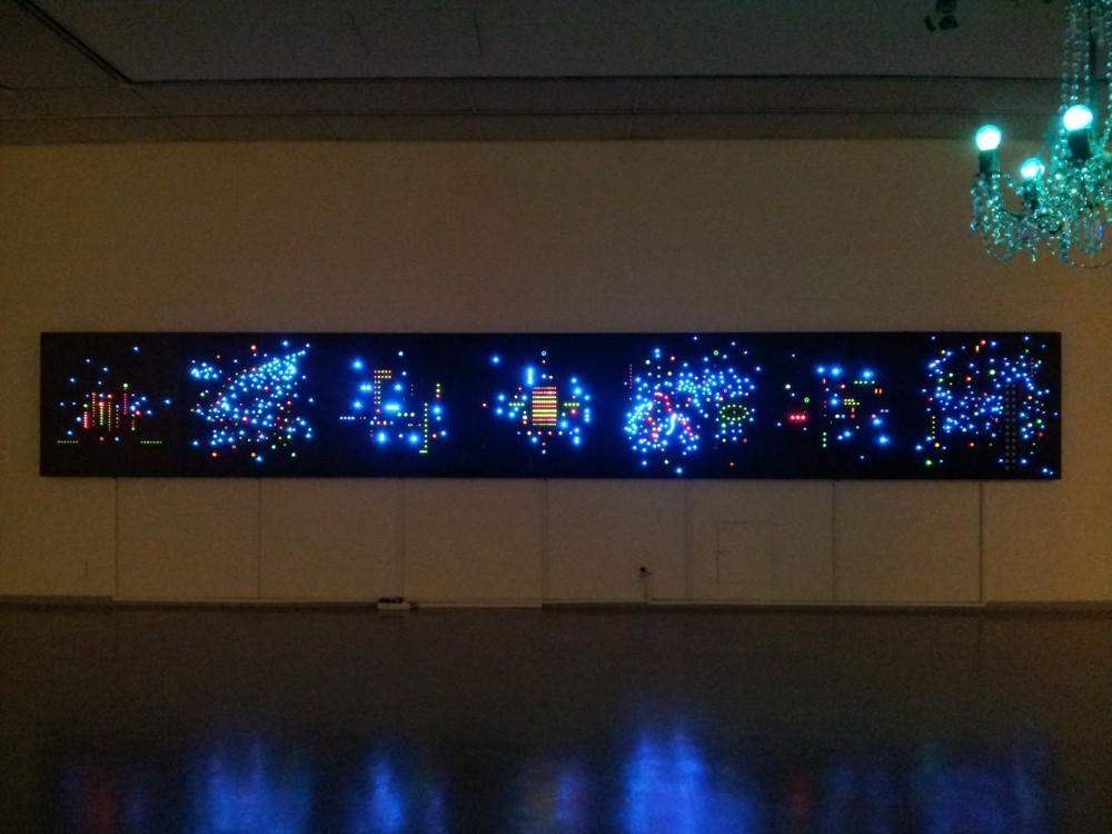Unknown space, Vue d'installation video, Seoul Art Center, 2012