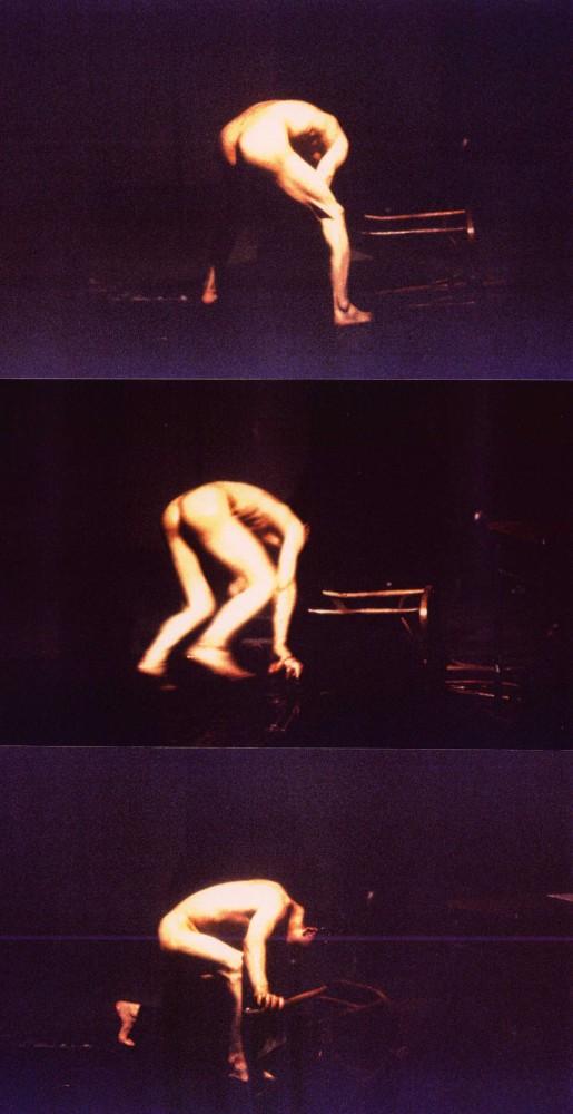 Mon lit et ma fenêtre, 1994, Performance