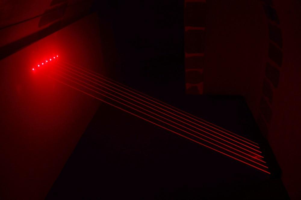 Sans tire, 2010, Dimension variable, Installation Laser